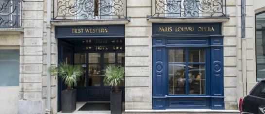 Kindvriendelijke hotels Best Western Paris Louvre Opera
