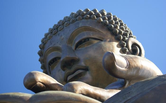 Big Buddha op Lantau Island Hong Kong
