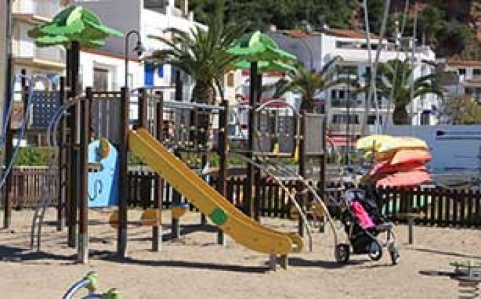 Costa Brava Spanje speeltuin Estartit