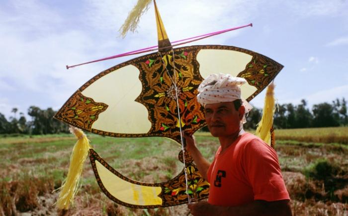 Traditionele vliegers Maleisië