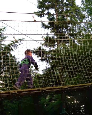 Klimpark Ardennen met 5-jarige