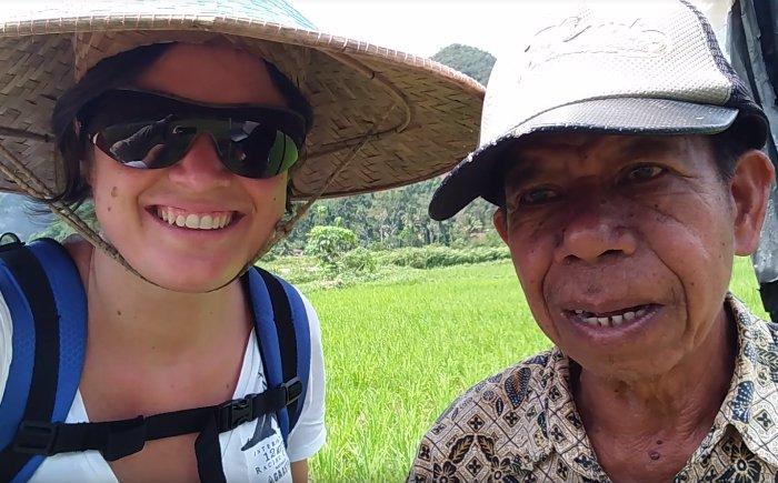 Indonesië met gezin