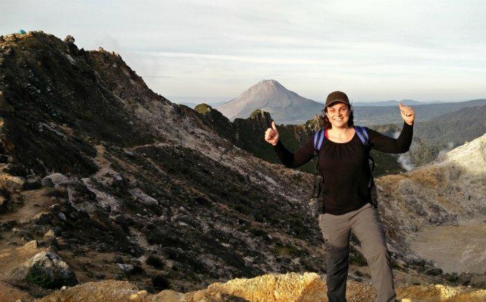 Sibayak vulkaan beklimmen Sumatra