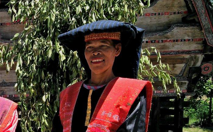 Vrouw Toba Batak Tobameer bevolking