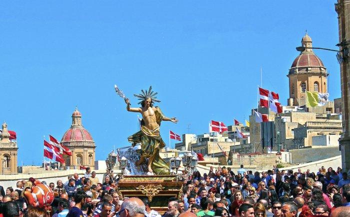Pasen op Malta