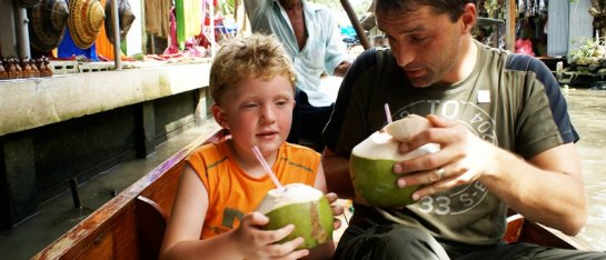 Koning Aap Familiereis Thailand Avontuur