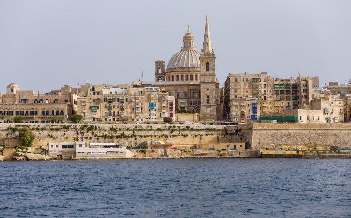 Valletta met kinderen