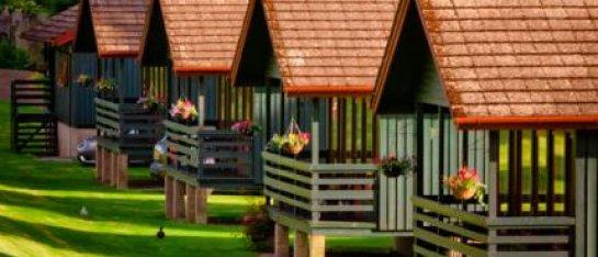 Logierait Lodges Schotland