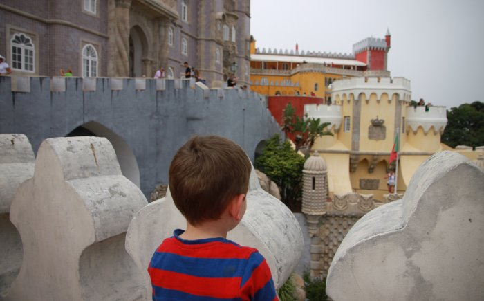Sintra met kind, Palácio da Pena
