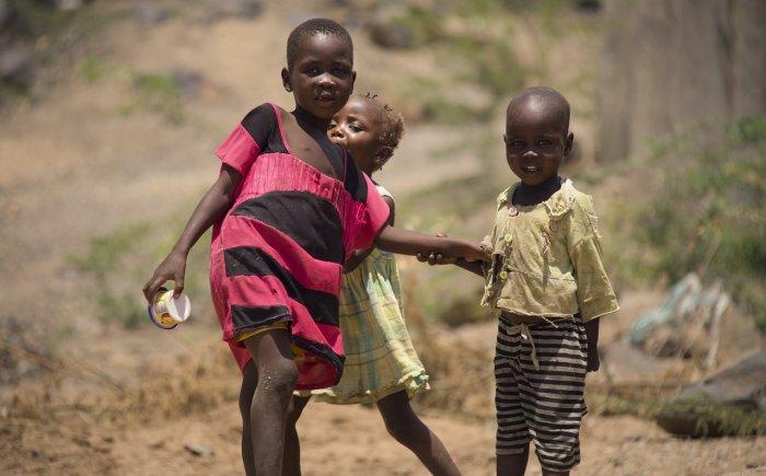 Kinderen in Kenia