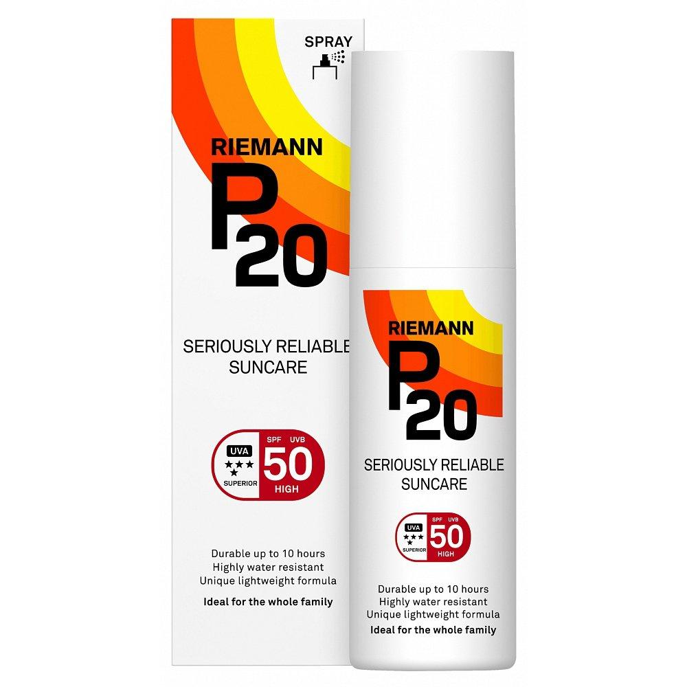 P20 Riemann Zonnebrand Factor spf 50