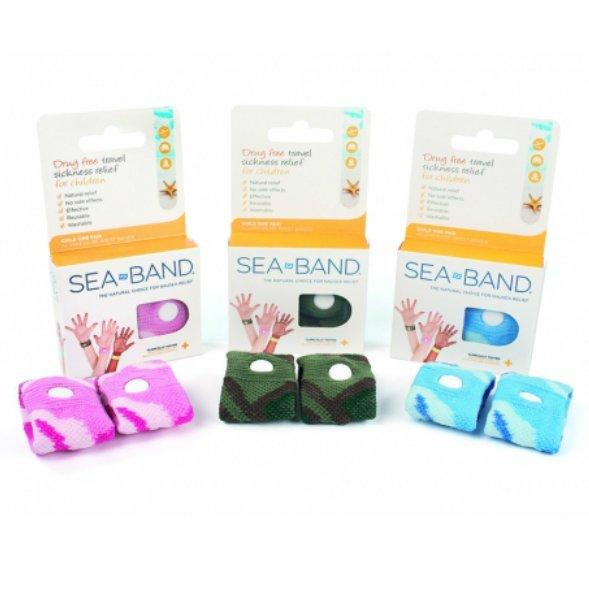 Seaband polsband voor reisziekte
