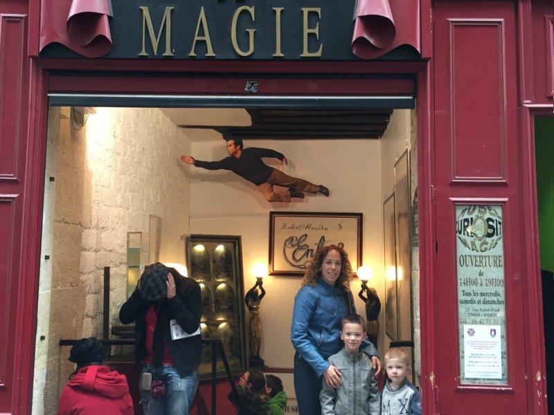 Academie de Magie Parijs met kinderen
