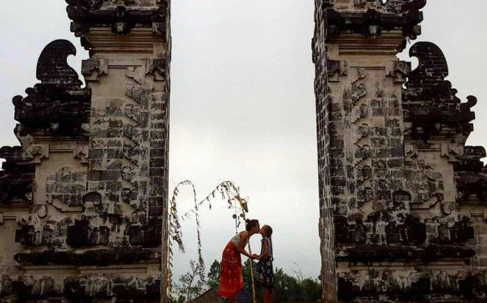 Bali met kind