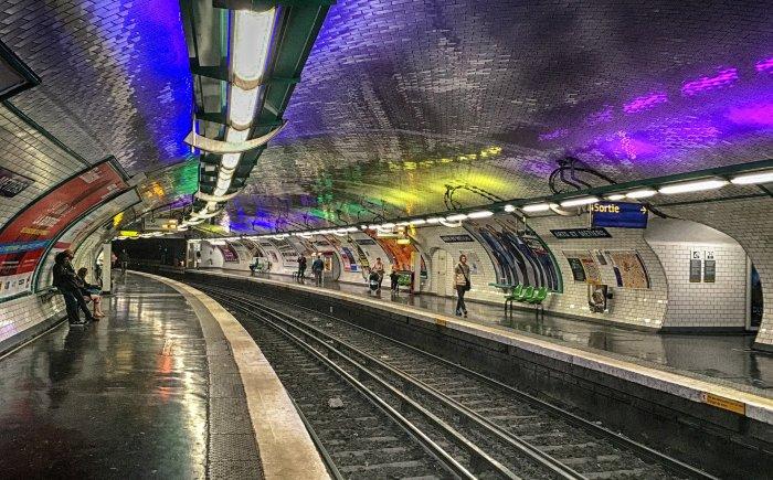 Metrostation Arts et Métiers