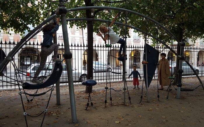 Speeltuintjes in Parijs