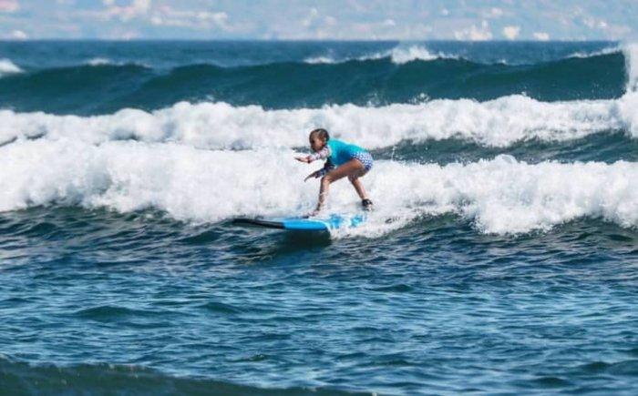 Surfen met op Bali bij Sanur of Seminyak
