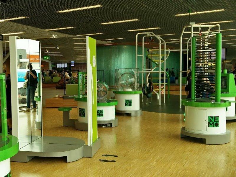 NEMO Amsterdam luchthaven