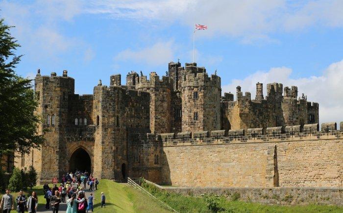 Alnwick Castle Harry Potter bezoek