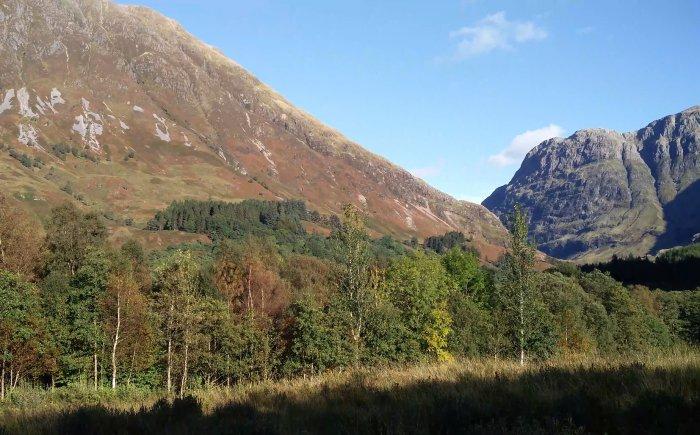 Ben Nevis bergen in Schotland
