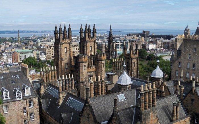 Edinburgh castle met kinderen