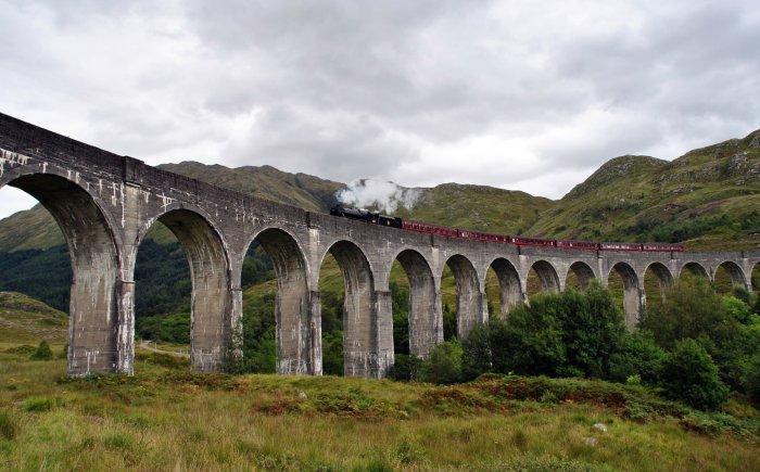 Hogwart Express treinrit Schotland met kinderen