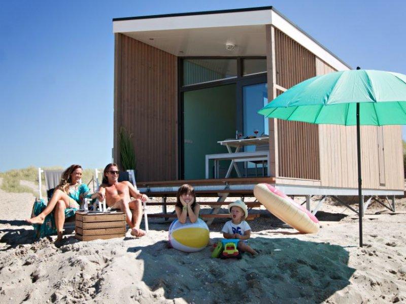 Kijkduin strandhuisjes