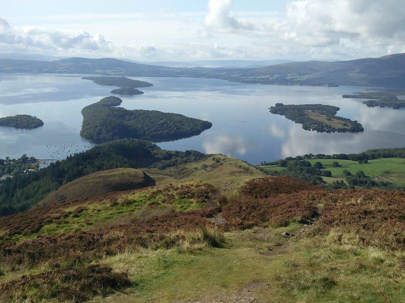 Leuk in Schotland met gezin