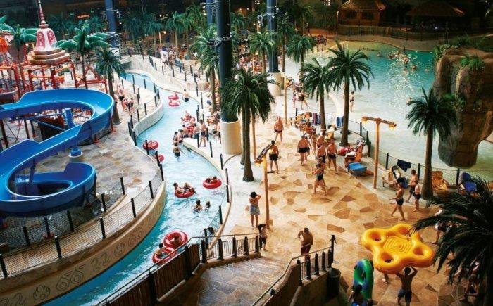 Roompot parken met een tropisch zwemparadijs