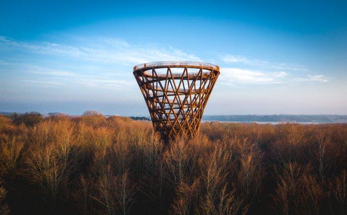 observatietoren Skovtårnet op Seeland