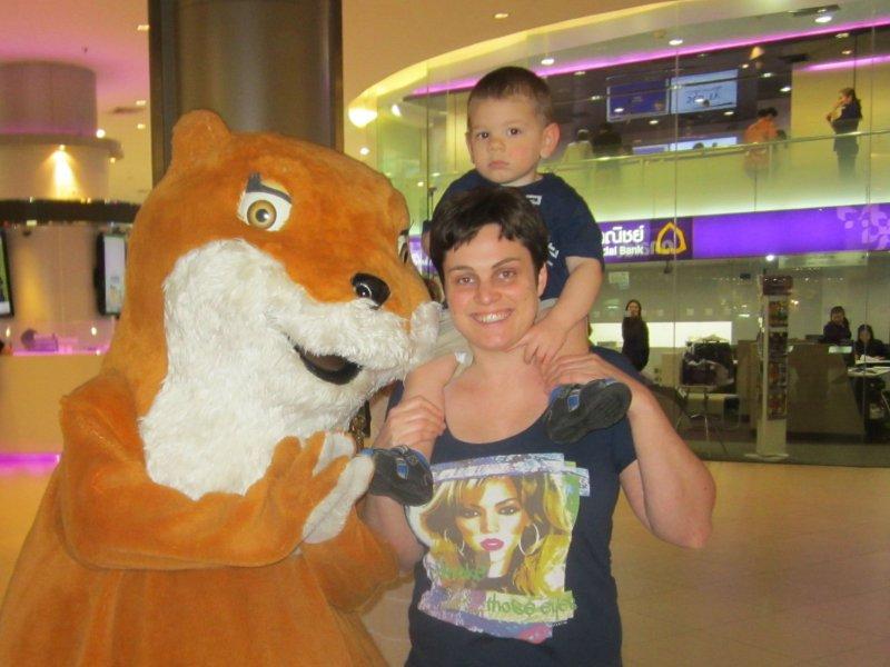 Bangkok met een kind