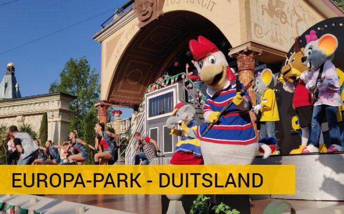 Vakantie in Duitsland met kinderen pretpark Europa-Park
