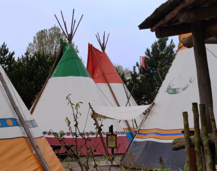 Europa-Park Camp Resort tipi tenten