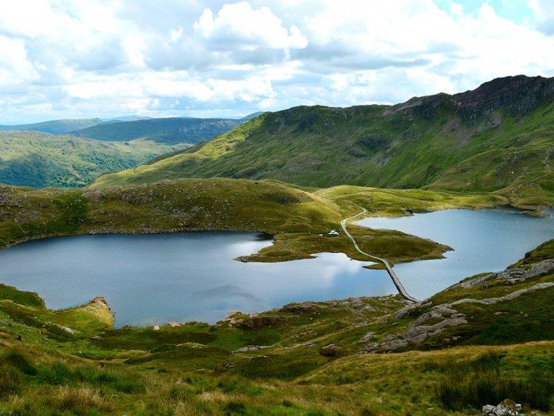 Snowdonia landschap