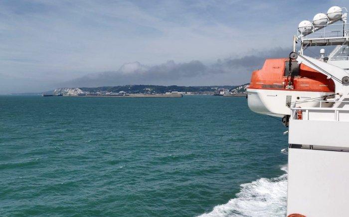 Ervaring Duinkerke-Dover met DFDS
