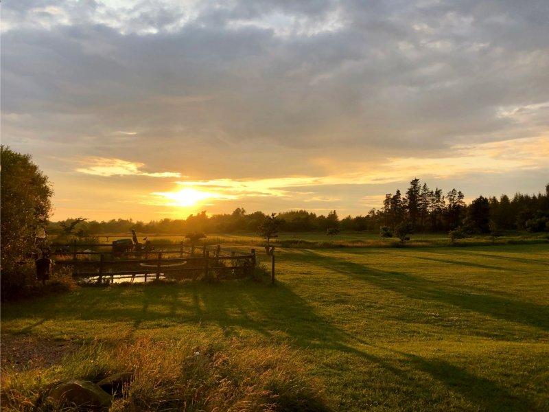Zonsondergang zien in Denemarken
