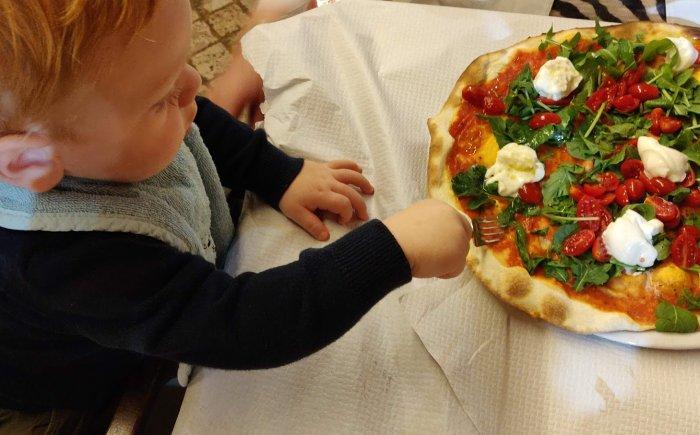 Italië met een baby