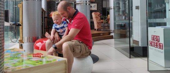 Novotel Cardiff met gezin