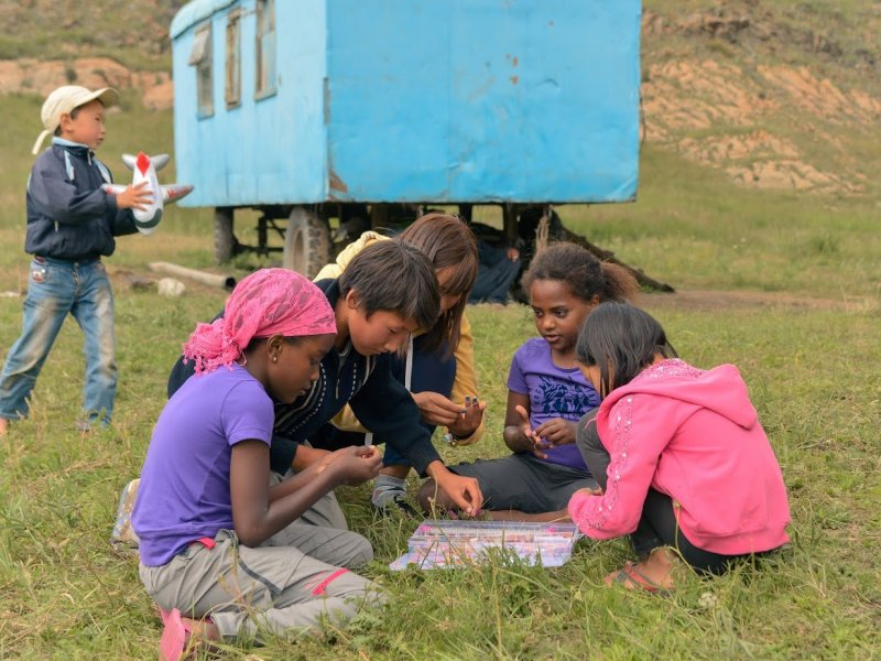 Kirgizië blog met kinderen
