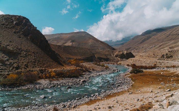 Kirgizië landschap