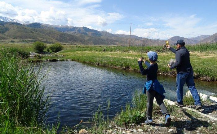 Reis naar Kirgizie met kind