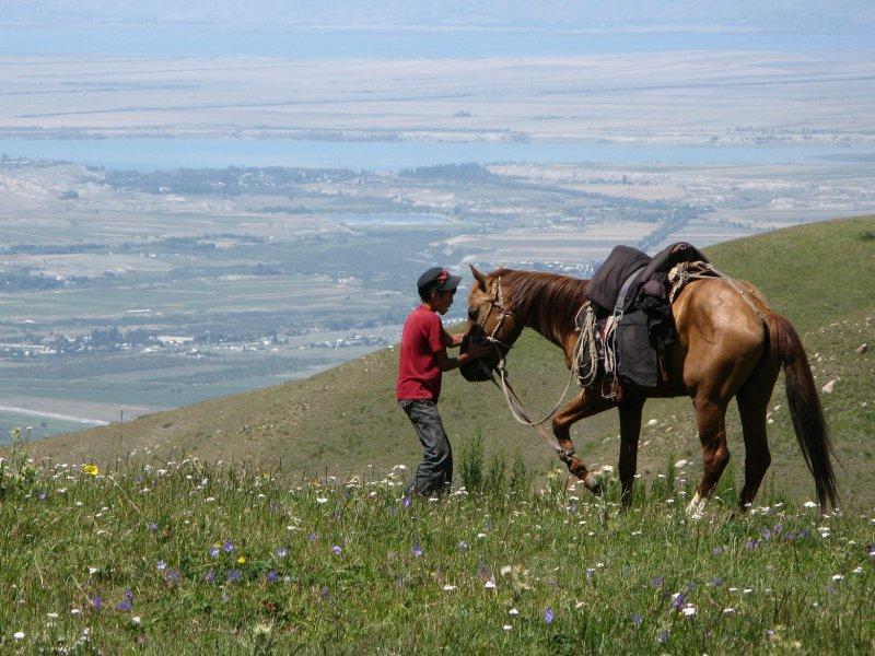 Gezinsreis naar Kirgizië met kinderen
