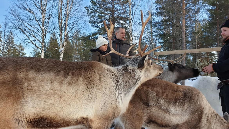 Zweeds Lapland met een kind
