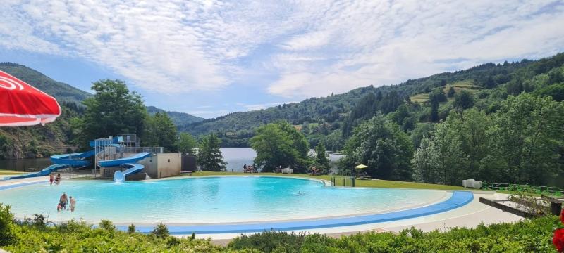 Zwembad in de Ardèche