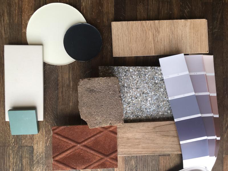 de onderbewuste invloed van kleur en materialen