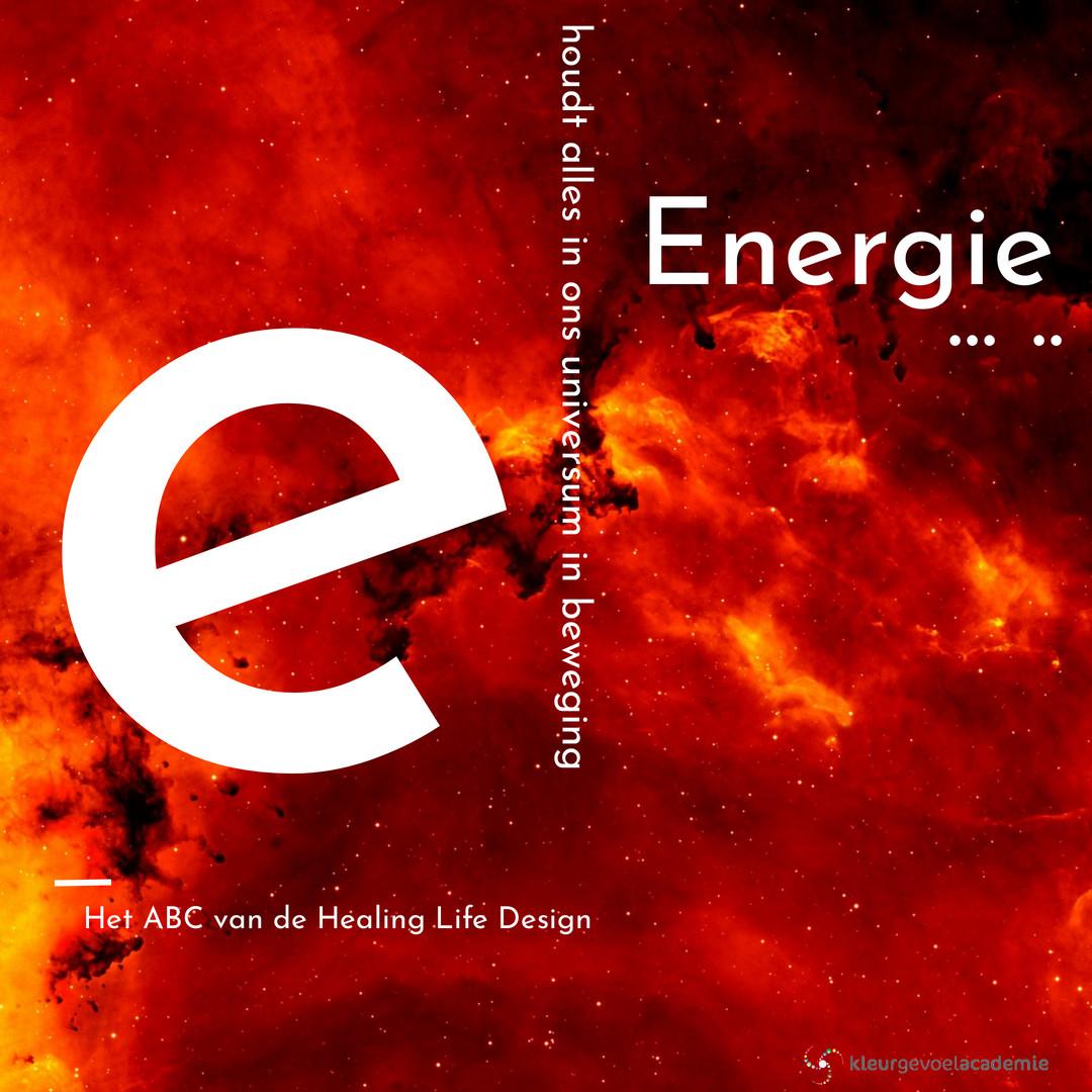E van energie is beweging