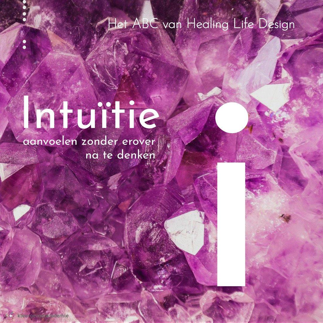 I van intuitie aanvoelen zonder na te denken amethist