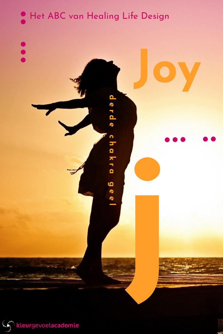 J van Joy derde chakra geel
