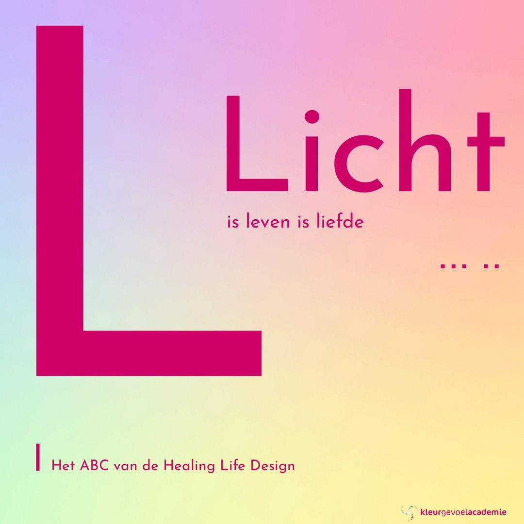 L van Licht is leven is liefde