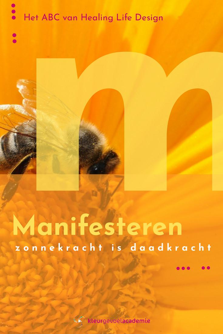 M van manifesteren daadkracht bijen